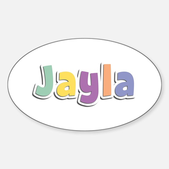 Jayla Spring14 Oval Decal