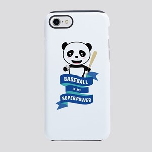 Baseball is my Superpower iPhone 7 Tough Case