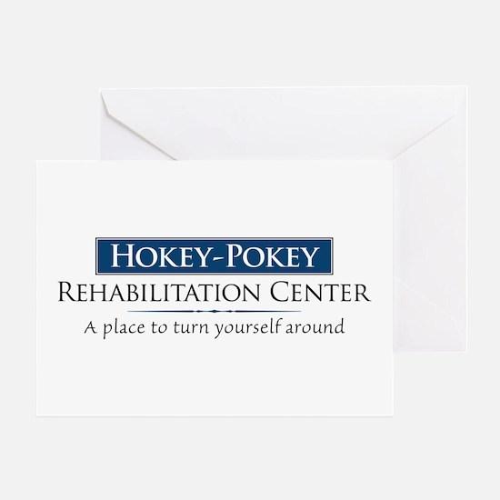 Hokey Pokey Rehab Greeting Card