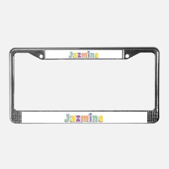 Jazmine Spring14 License Plate Frame