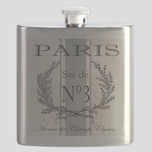 Vintage French Paris grain sac Flask