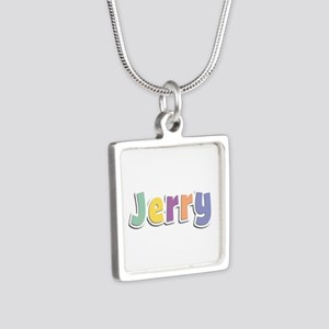 Jerry Spring14 Silver Square Necklace
