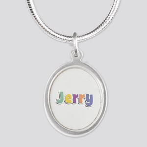 Jerry Spring14 Silver Oval Necklace