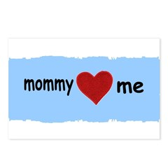MOMMY LOVES ME Postcards (Package of 8)