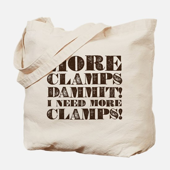 More Clamps Tote Bag