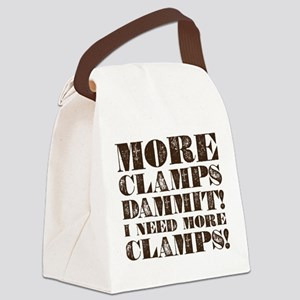 More Clamps Canvas Lunch Bag