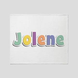 Jolene Spring14 Throw Blanket