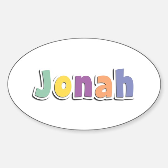 Jonah Spring14 Oval Decal