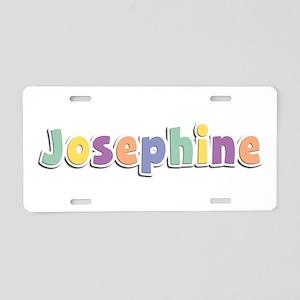 Josephine Spring14 Aluminum License Plate