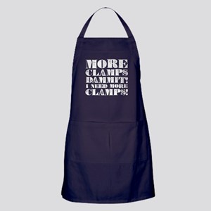 More Clamps Apron (dark)