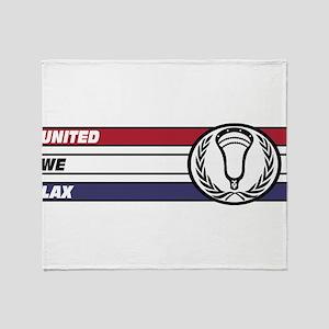 Lacrosse United 02a Throw Blanket