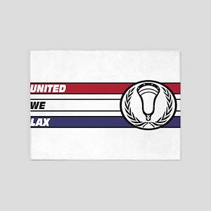 Lacrosse United 02a 5'x7'Area Rug