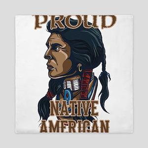 proud native american 3 Queen Duvet