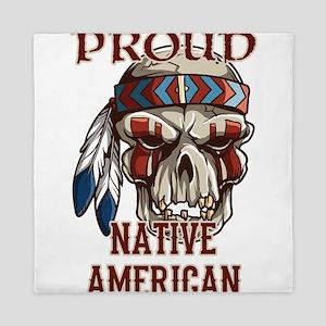 proud native american 4 Queen Duvet