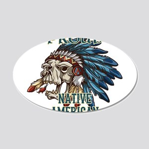 proud native american 5 Wall Decal