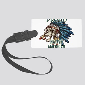 proud native american 5 Luggage Tag