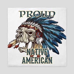 proud native american 5 Queen Duvet