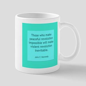 Peaceful Revolution Mugs