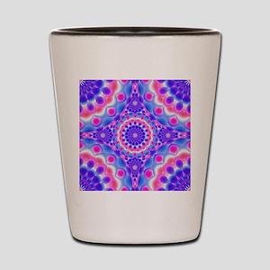 Tribal Mandala 2 Shot Glass