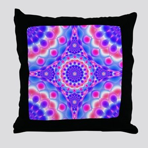 Tribal Mandala 2 Throw Pillow