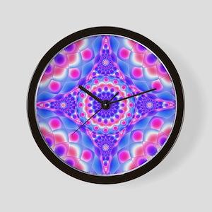 Tribal Mandala 2 Wall Clock