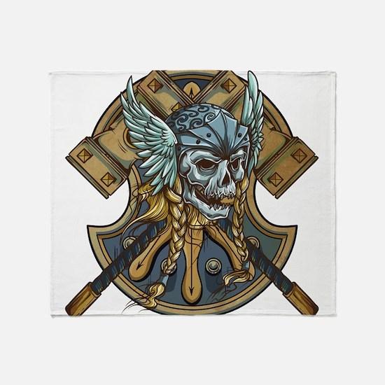 viking1 Throw Blanket