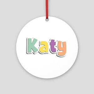 Katy Spring14 Round Ornament