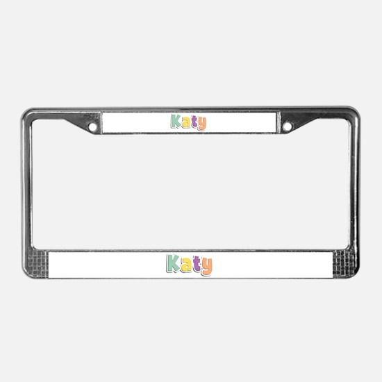 Katy Spring14 License Plate Frame