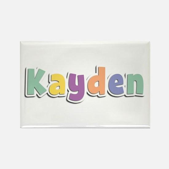 Kayden Spring14 Rectangle Magnet