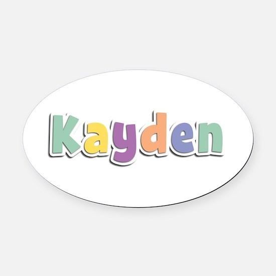 Kayden Spring14 Oval Car Magnet