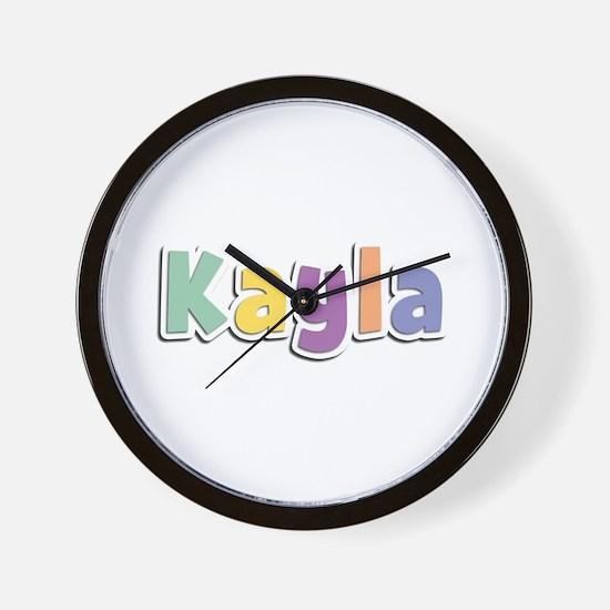 Kayla Spring14 Wall Clock