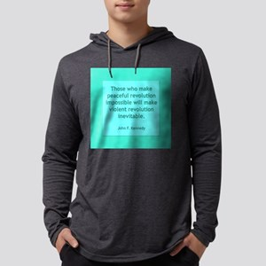 Peaceful Revolution Long Sleeve T-Shirt