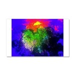 Blooming nebula Car Magnet 20 x 12