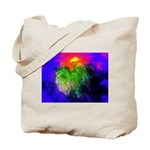 Blooming nebula Tote Bag
