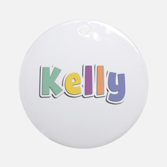 Kelly Spring14 Round Ornament