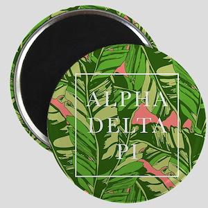 Alpha Delta Pi Banana Leaves Magnet