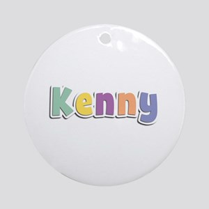 Kenny Spring14 Round Ornament