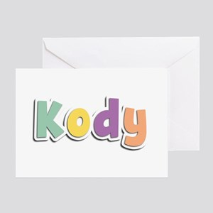 Kody Spring14 Greeting Card