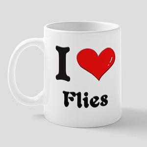 I love flies  Mug