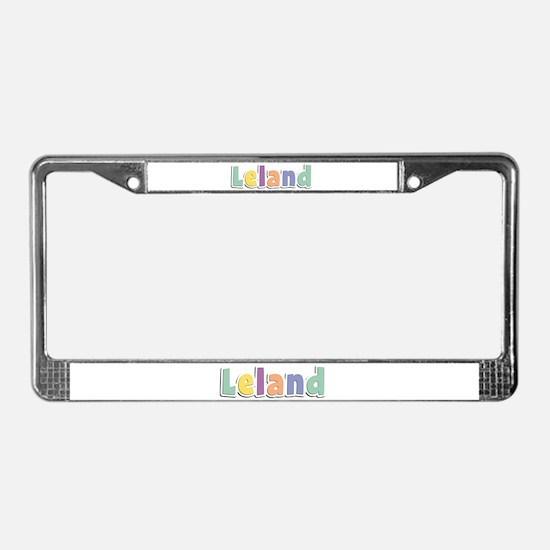 Leland Spring14 License Plate Frame