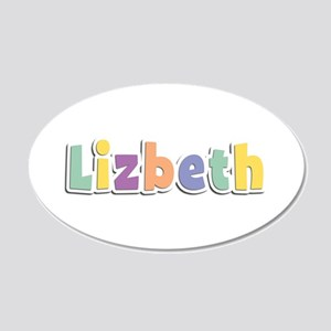 Lizbeth Spring14 20x12 Oval Wall Decal