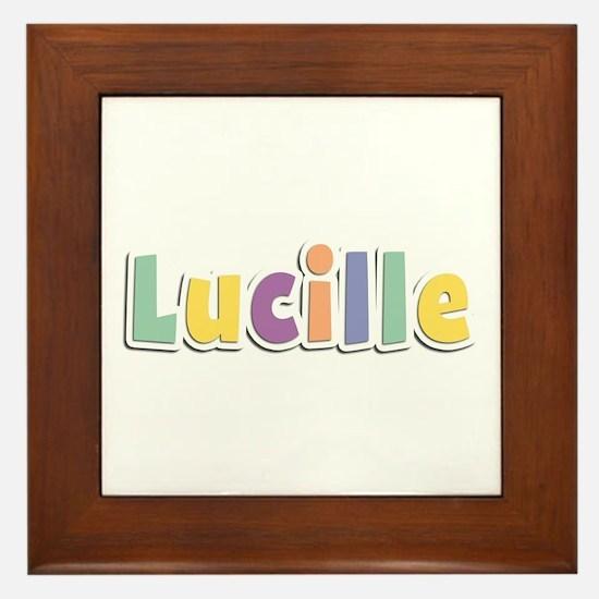 Lucille Spring14 Framed Tile