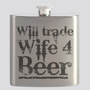 Will Trade Wife 4 Beer Flask