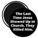 Jesus in Church? Magnet (10 pack)