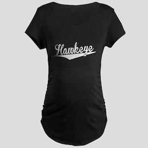 Hawkeye, Retro, Maternity T-Shirt