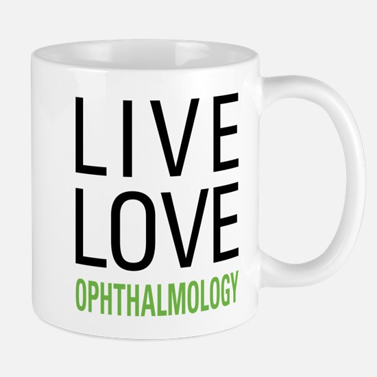 Live Love Ophthalmology Mug