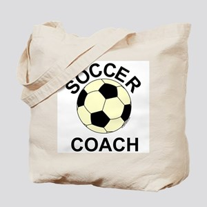 Soccer Coach Yellow Tote Bag