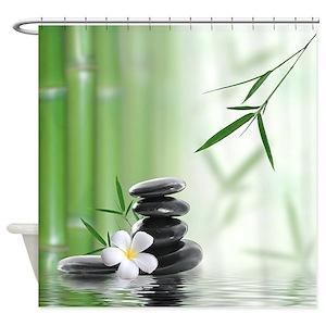 Zen Shower Curtains