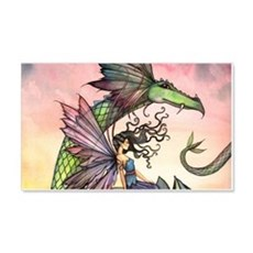 A Distant Place Fairy and Dragon Fantasy Art Wall