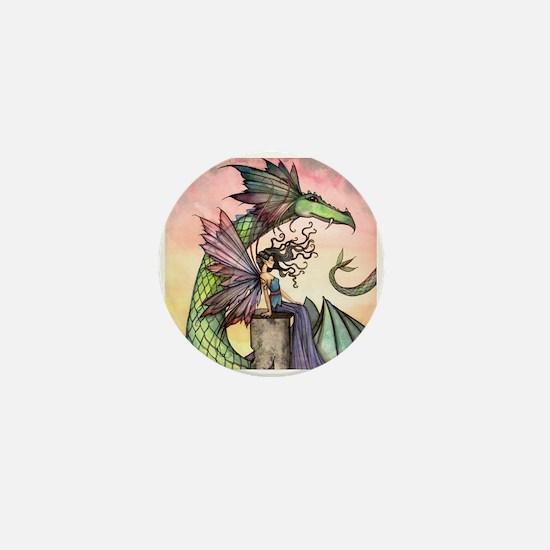 A Distant Place Fairy and Dragon Fantasy Art Mini